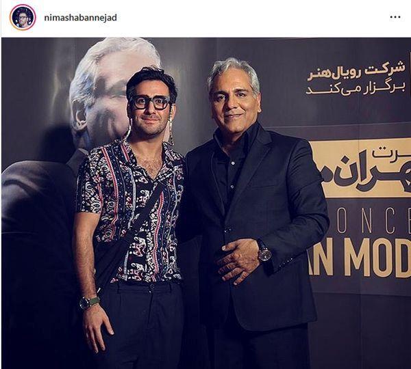 پدر و پسر هیولای مشهور در کنار هم + عکس