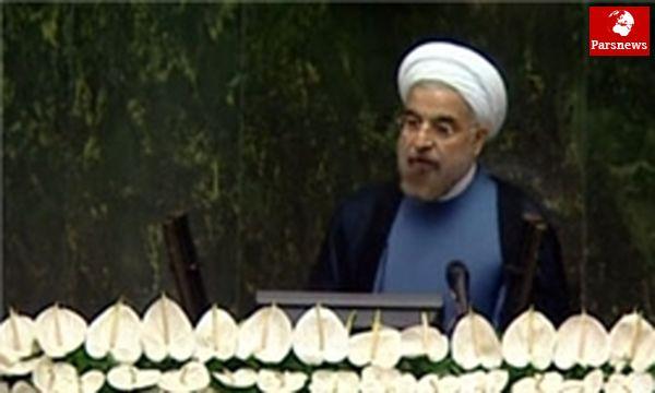 سخنرانی روحانی در صحن علنی مجلس آغاز شد