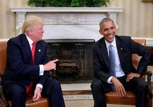 ادعای ترامپ درخصوص اوباما