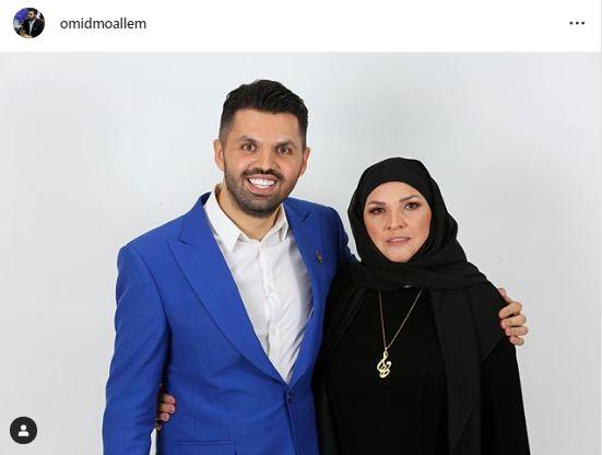 آرزوی پسر علی معلم برای برندگان تندیس حافظ+عکس