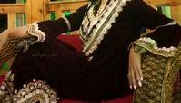 لباس بانوی هنرپیشه عرب قبل از حضور در ایران سوژه شد !