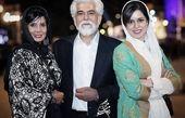 حسین پاکدل و خانواده اش در یک مراسم + عکس