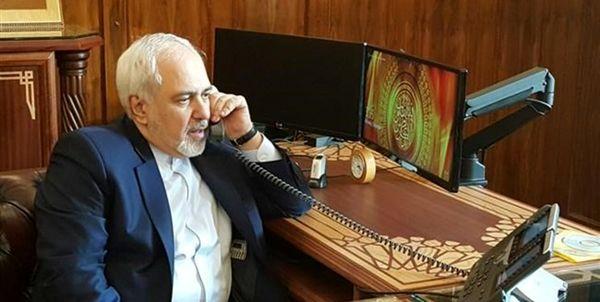 گفت و گوی تلفنی وزیر امور خارجه و همتای ژاپنی