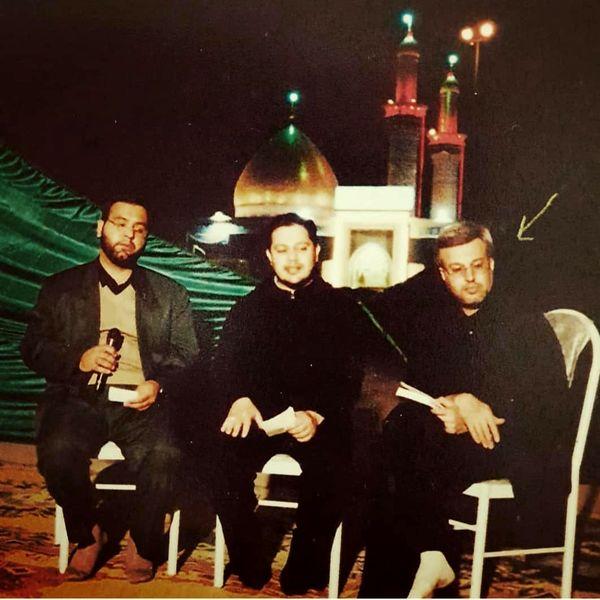 خاطره مجری معروف این شب ها از اولین برنامه در کربلا+عکس