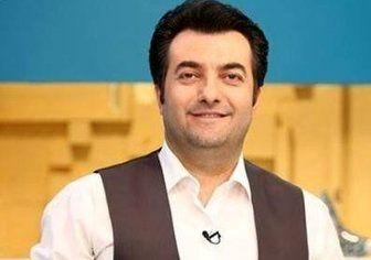 تخریب «رضا گلزار» توسط مجری جشنواره جام جم/ عکس