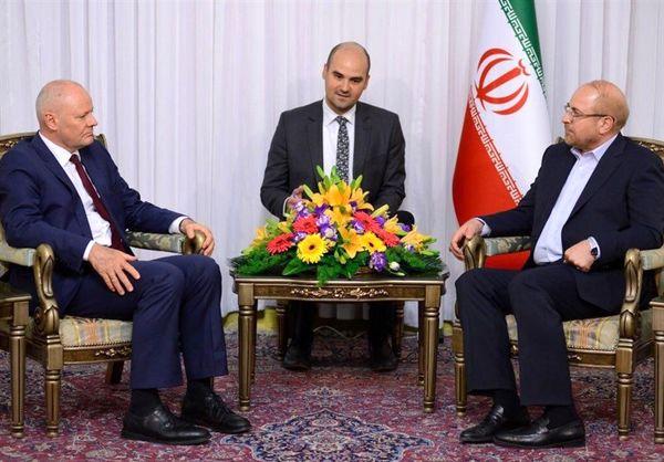 قالیباف با سفیر آلمان در ایران دیدار و گفتوگو کرد