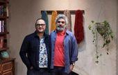 سروش صحت در کنار آقای خندوانه ای + عکس