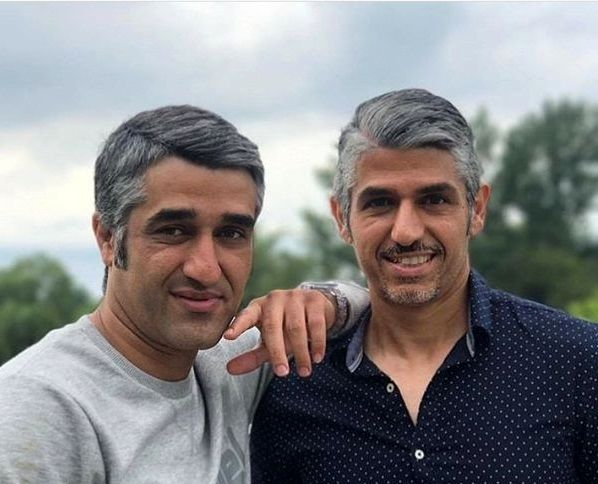 گردش پژمان جمشیدی و برادر جانش+عکس