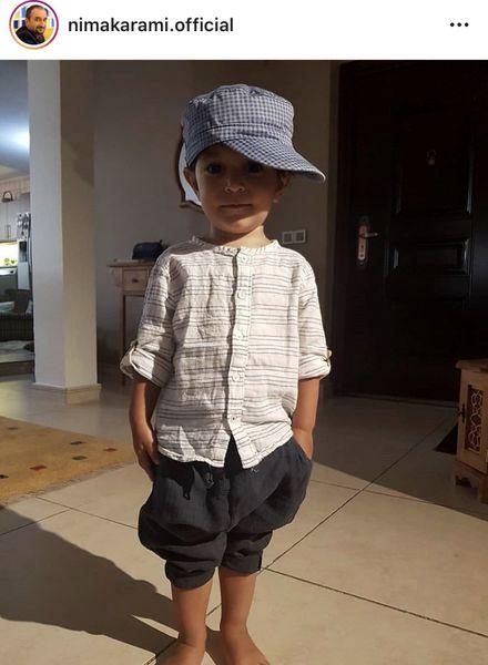 پسر خوشتیپ نیما کرمی + عکس