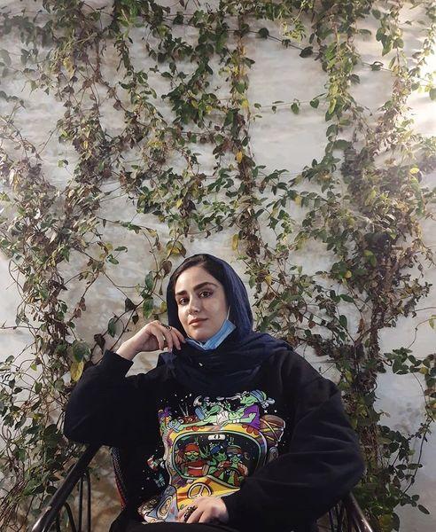 لباس عجیب هانیه غلامی + عکس