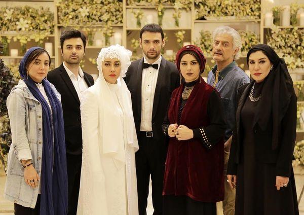 عکس بهاره کیان افشار با لباس عروس
