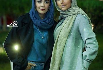 لباس خوشرنگ هدی زین العابدین در اکران کرگدن+عکس