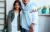 عکس همسر و دختر پژمان بازغی در یک روز تابستانی