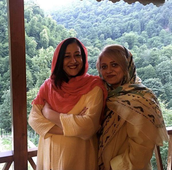 فاطمه هاشمی در کنار خواهرش + عکس