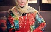 شبنم قلی خانی در پوششی متفاوت+عکس