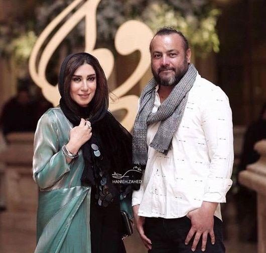 نسیم ادبی و همسرش+عکس