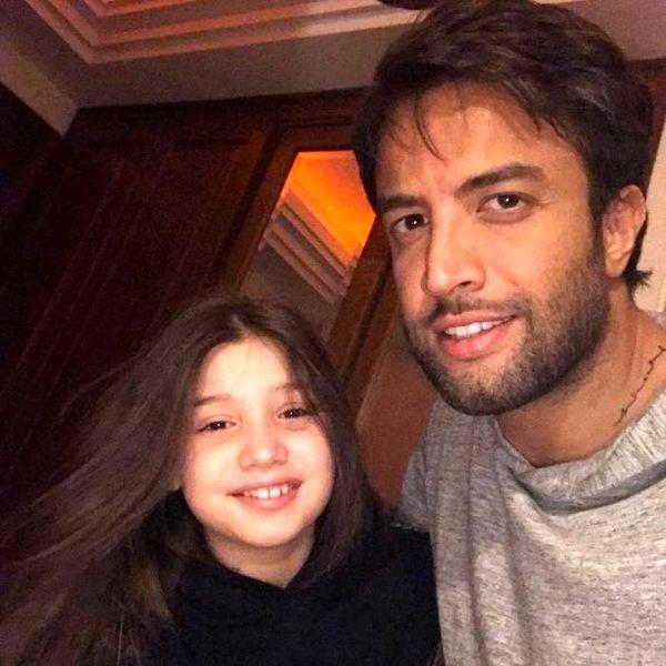 عکس جدید بنیامین و دخترش