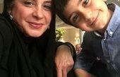 عکس بازیگر ستایش با پسر بانمکش