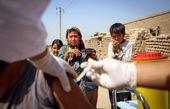 نگاه جالب کودکان محروم به واکسن ! + تصویر
