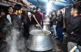"""آیین سنتی """"پخت حلیم شب چهل و هشتم"""" - سمنان"""