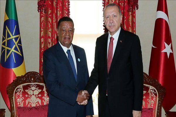 رؤسای جمهوری ترکیه و اتیوپی دیدار کردند