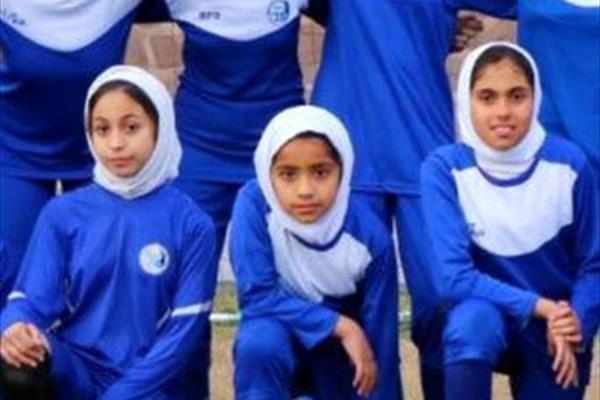 دختر روماریو در تیم دختران استقلال