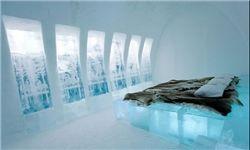 هتلی از جنس یخ +عکس