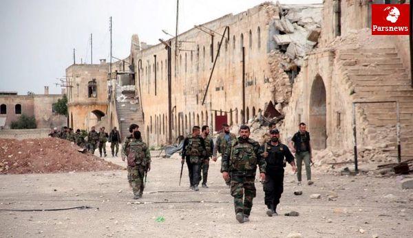 نیروهای ارتش سوریه به مرز عراق رسیدند