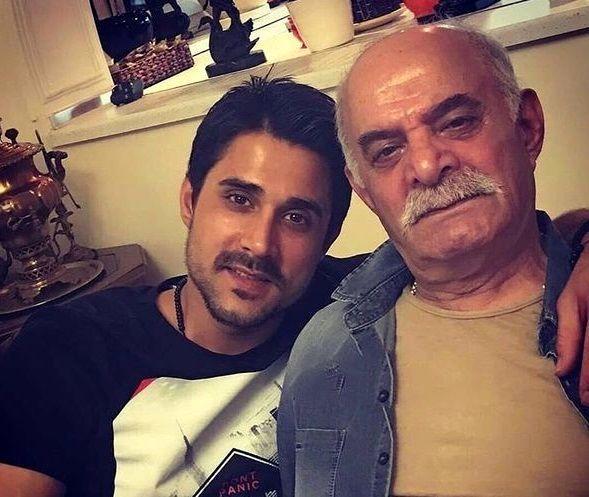 سیروس گرجستانی و پسر بزرگش + عکس