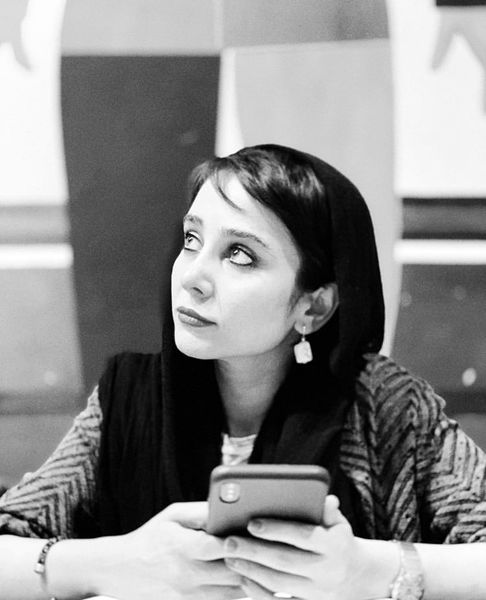 چالش سیاه سفید الناز حبیبی + عکس