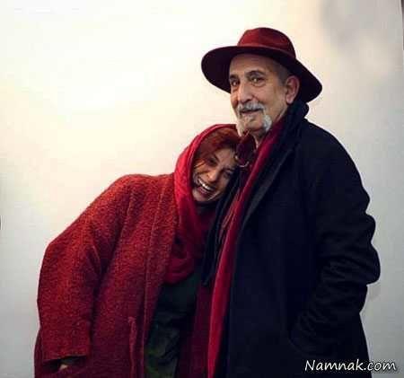 عکس احساسی آقا و خانم بازیگر پس از سال ها