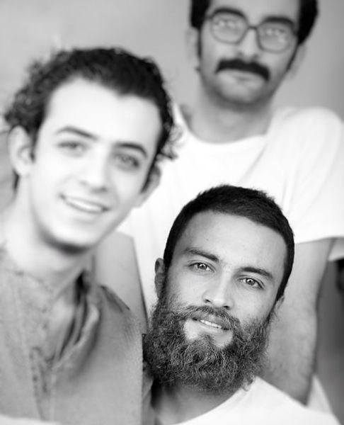 علی شادمان در کنار امیر جدیدی + عکس