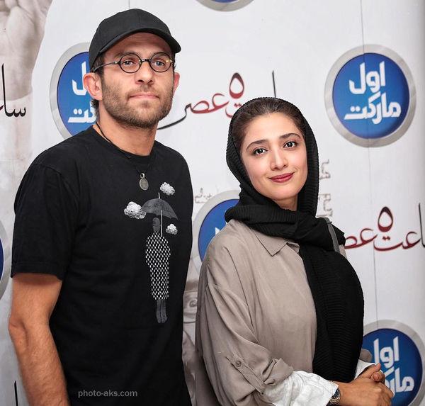 زوج هنرمند ایرانی در یک پوستر سینمایی+عکس
