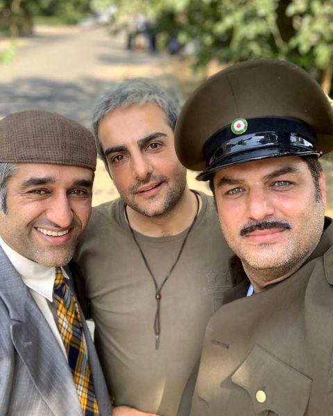 سه بازیگر خوشتیپ و پرطرفدار طنز در یک قاب+عکس