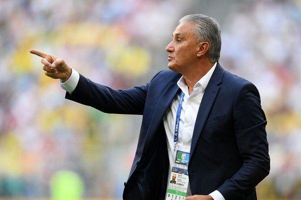 اظهارات سرمربی برزیل بعد از حذف از جام جهانی روسیه
