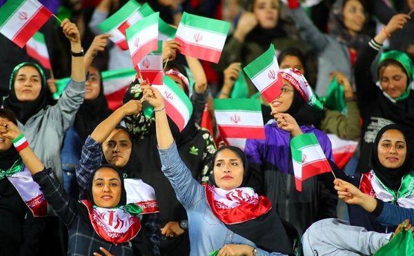 خوشحالی رامبد جوان برای بانوان ایران