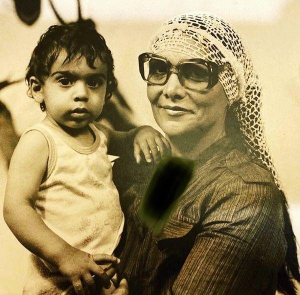 کودکیهای پولاد کیمیایی در آغوش مادرش + عکس