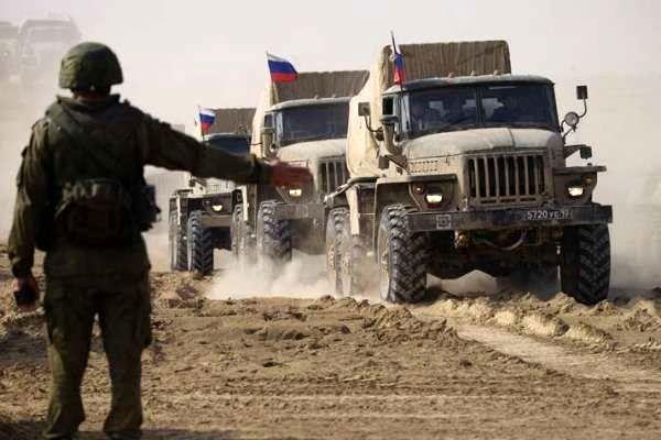 روسیه در نزدیکی مرزهای افغانستان مانور نظامی اجرا می کند