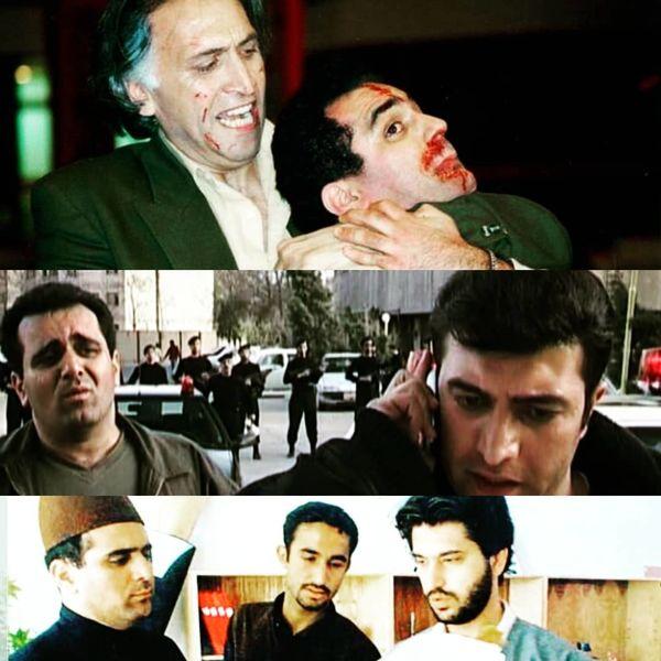 قیافه کتک خورده و خونی حسین رفیعی+عکس