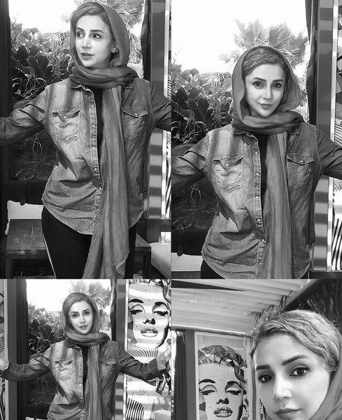ژست های متفاوتی از شبنم قلی خانی + عکس