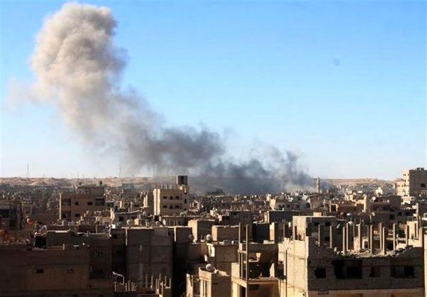 حمله ائتلاف آمریکایی به مناطق مسکونی در دیرالزور سوریه
