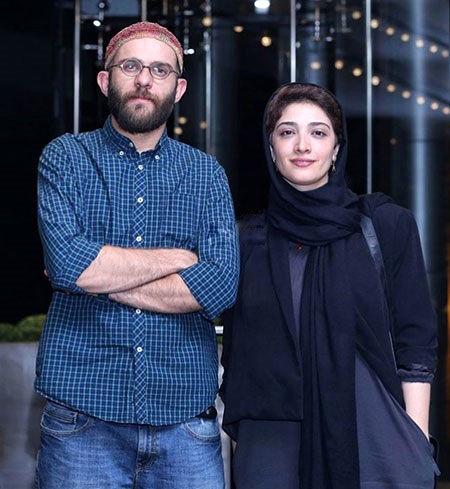 بابک حمیدیان و همسر بازیگرش+عکس