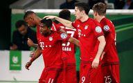 پیروزی بایرن مونیخ مقابل وولفسبورگ