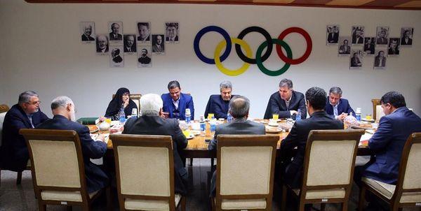 تصمیمگیری درباره لیست ایران در شورای المپیک آسیا به نتیجه نرسید