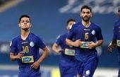 گل دوم استقلال به تراکتور توسط قائدی + فیلم