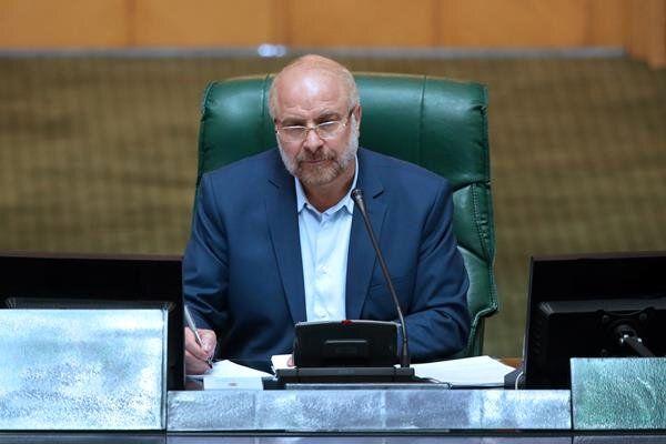 توضیح قالیباف درباره عدم حضور رئیس جمهور در جلسه امروز مجلس