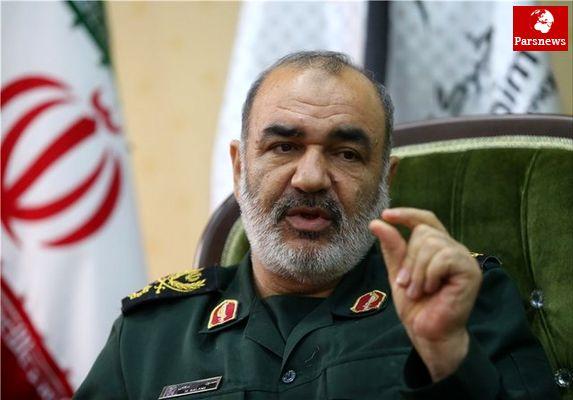 سردار سلامی:اهداف راهبردی دشمن تحت سیطره انقلاب اسلامی است