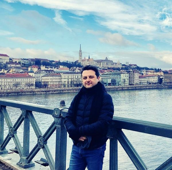 علی پهلوان در مجارستان + عکس