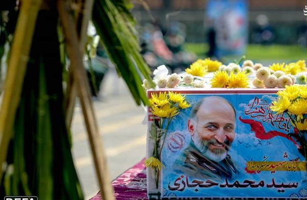 مراسم تشییع پیکر سردار سرلشکر شهید حجازی+ عکس