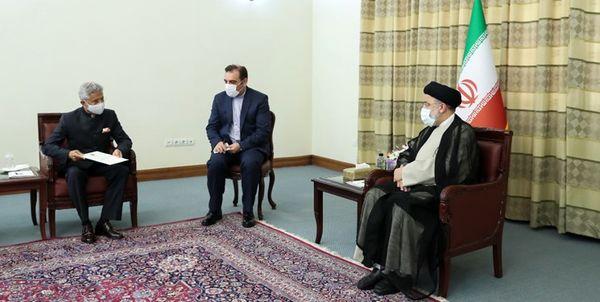گفت و گو وزیر خارجه هند با رئیس جمهور منتخب ایران